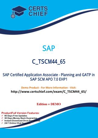 C_TSCM44_65 IT Exam Dumps