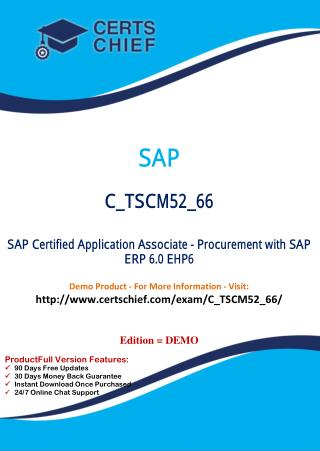 C_TSCM52_66 IT Exam Dumps