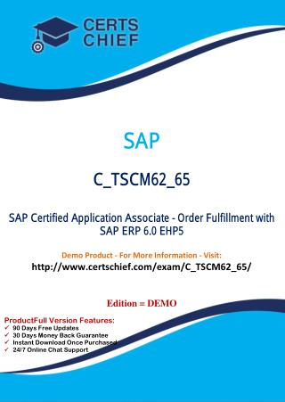 C_TSCM62_65 IT Exam Dumps