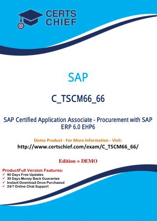 C_TSCM66_66 IT Exam Dumps