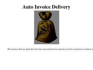 Batch Invoicing