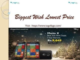 New Year Sale on Refurbished Samrtphone's