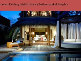 Century Residency Jalahalli | Century Residency Jalahalli Bangalore 9739976422