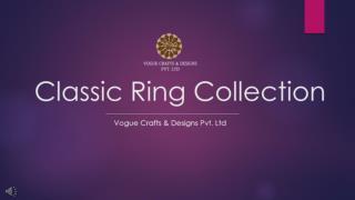 Designer Ring for Women