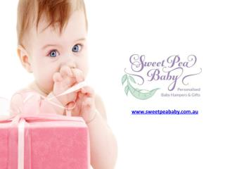 Baby Gift Baskets and Baby Hampers - Sweet Pea Baby