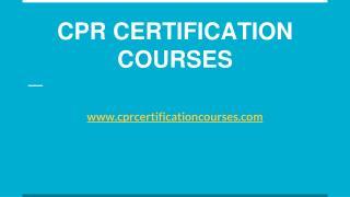 Online CPR Certification In New York