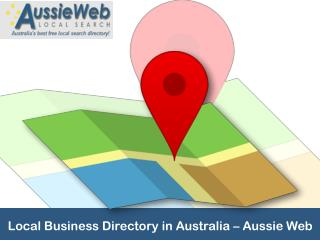 Local Business Directory in Australia – Aussie Web