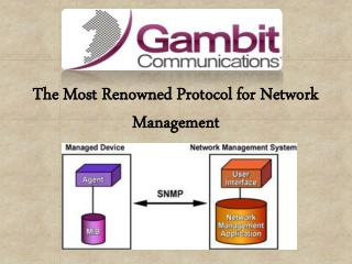 The Most Renowned Protocol for Network Management