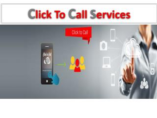 Click to Call Services in india | Click to Call