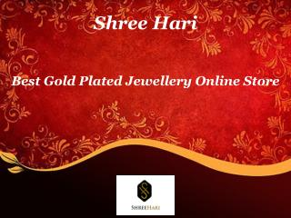Best Gold Plated Jewellery Online Store