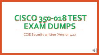 350-018 Exam Questions