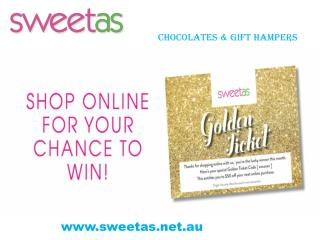 Sweet As-  Buy Chocolates & Gift Hampers Online