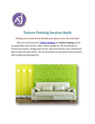 Texture Painting Services Nasik