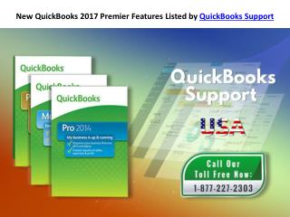 New QuickBooks 2017 Premier Features Listed by QuickBooks Support