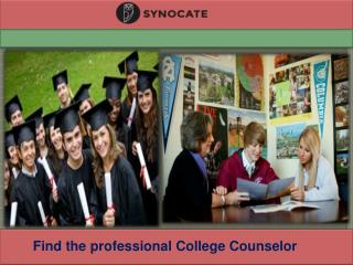 Hire Expert College Counselor