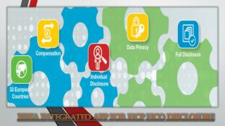EFPIA Integrated App for HCP HCO Disclosure