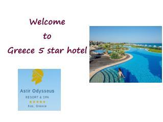 5 star spa resorts greece