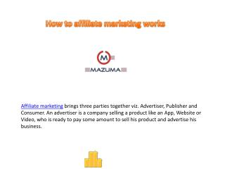 Mazuma Affiliates marketing services in Hongkong