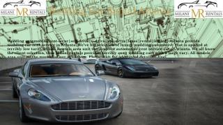 Luxury Car Rental Atlanta Airport