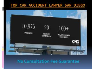 Top Car Accident Lawyer San Diego