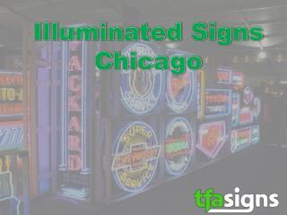 Illuminated Signs Chicago