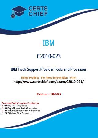 C2010-023 Certification Practice Test