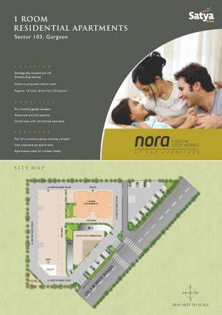 Nora - 1BHK Studio Apartment in Gurgaon