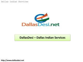DallasDesi – Dallas Indian Services
