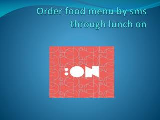 ordering office food lunch on Dubai