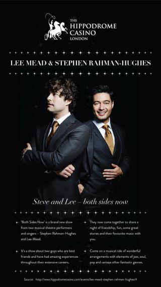 Lee Mead & Stephen Rahman-Hughes