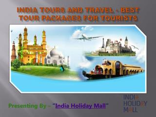 India Tours and Travel - Best Tour Packages for Tourists
