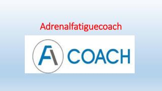 Adrenal Fatigue Diagnosis