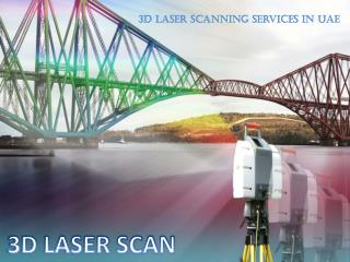 3D laser scanning services in UAE