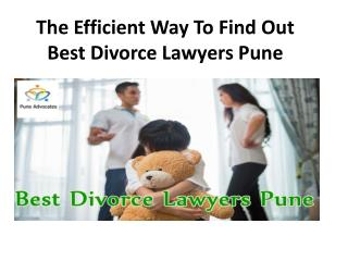 Can You Prove The Efficiency Of Best Divorce Lawyers Pune?