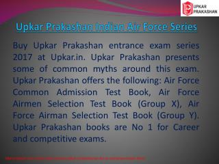 Upkar Prakashan Indian Airforce Series