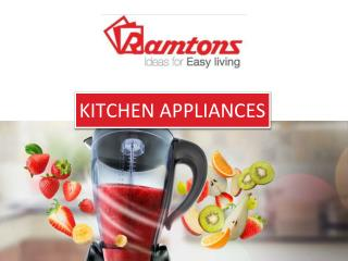 Purchase Large And Small Kitchen Appliances
