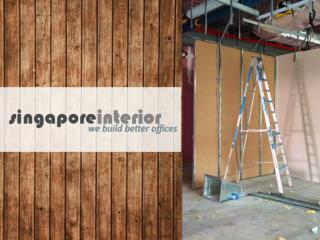 Office Interior Renovation Contractors Singapore