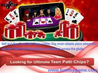 Buy and Sell Teen Patti Chips Online