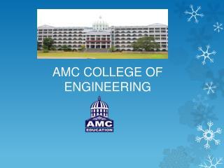 AMC College Of Engineering