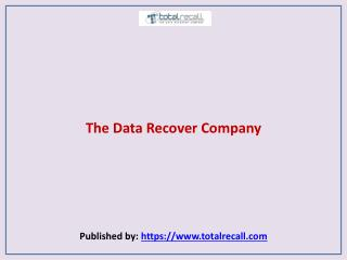 The Data Recover Company