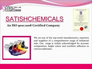 Affordable Water Based Ink Manufacturer in India