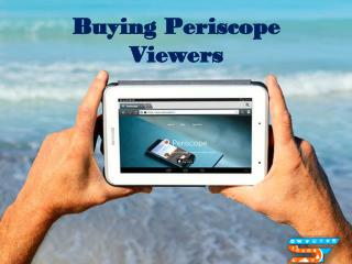 Buy More Viewers on Periscope and Building Relationships to People