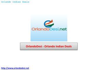 OrlandoDesi – Orlando Indian Deals