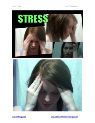 Free EFT Script - Releasing Stress