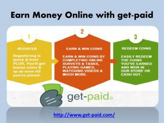 Earn money online with get-paid