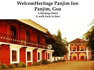 WelcomHeritage Panjim Inn - A Heritage Hotel in Goa