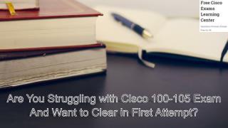 Free Cisco 100-105 Exam Study Material - Cisexams