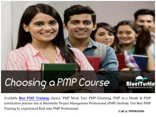 Find Best PMP Training Centre for PMP Certification Exam