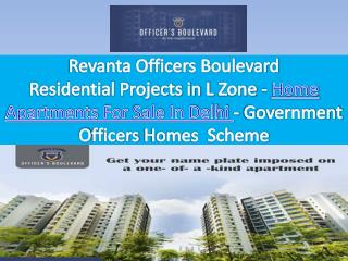 Housing Project for Government Employees - RevantaofficersBoulevard