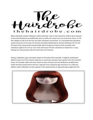 Halloween Wigs - Best Halloween Prop